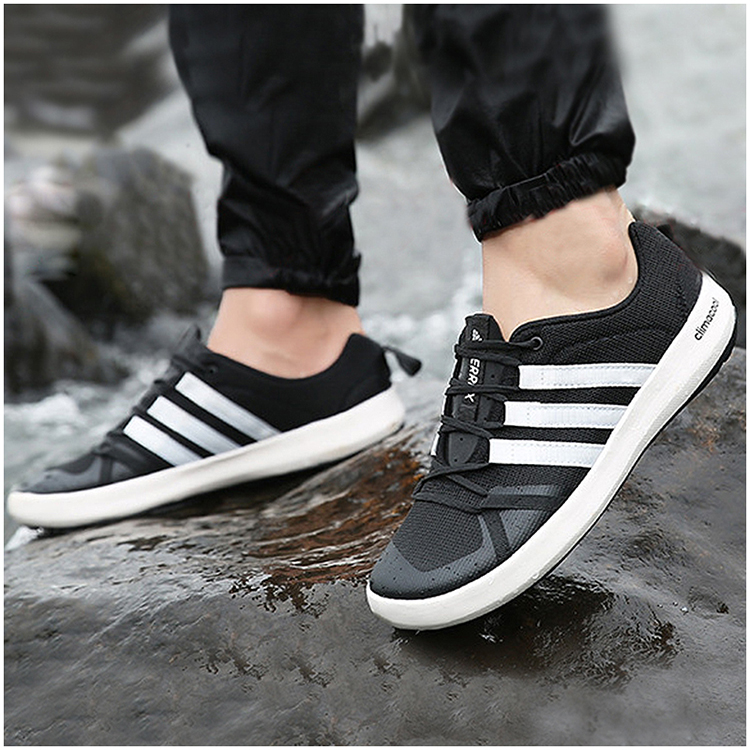 db30fba565a1 Adidas men s shoes 2018 summer new non-slip upstream shoes outdoor  breathable running speed interference