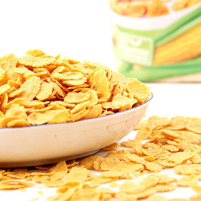 俄罗斯雀巢原味玉米片 进口麦片 即食早餐 冲饮零食700g量贩装