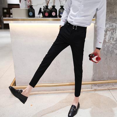 Zhenxuan mùa xuân quần âu Hàn Quốc phiên bản của mỏng phù hợp với quần mỏng 9 điểm feet quần của nam giới chín quần quần Quần