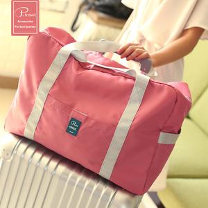 P.travel túi du lịch gấp tay cầm tay hành lý mua sắm túi có thể được thiết lập xe đẩy trường hợp du lịch lưu trữ công suất lớn
