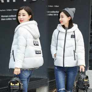 棉衣女短款宽松韩版学生外套冬装羽绒棉服女bf时尚小棉袄面包服潮