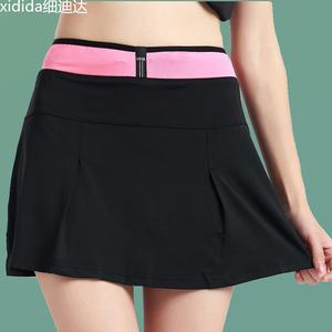 Hàng ngày đặc biệt mới thể thao quần phụ nữ xếp li váy của phụ nữ nửa chiều dài quần vợt váy cầu lông váy quần short mỏng sinh viên