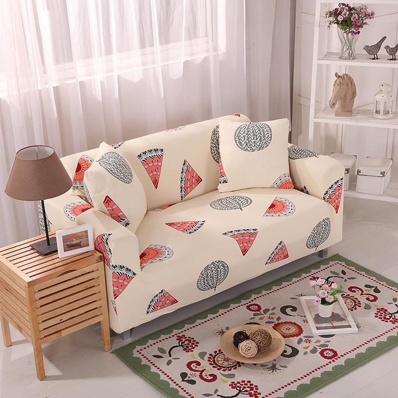 懒人全包万能皮沙发 套布艺沙发罩通用沙发垫老式沙发布单人三人