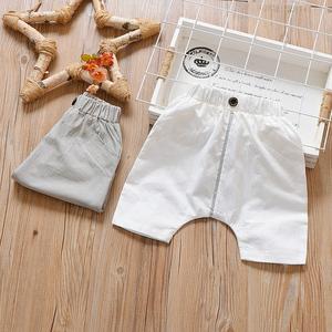 Hàn Quốc bé quần áo trẻ em quần short trẻ em mùa hè trẻ em trai và cô gái quần lỏng lẻo
