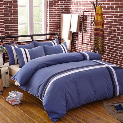 时尚简约 高密度纯棉活性四件套 全棉床上用品4件套 特价
