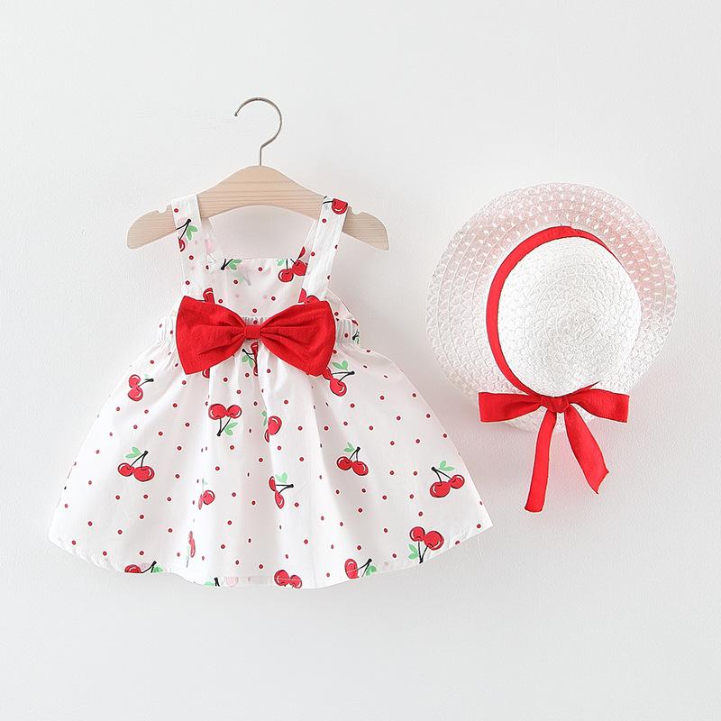 Bé gái mùa hè Váy trẻ em mới mùa hè Váy bé gái kiểu tây backless cotton Đầm bé gái váy 1-3 tuổi 2 - Váy