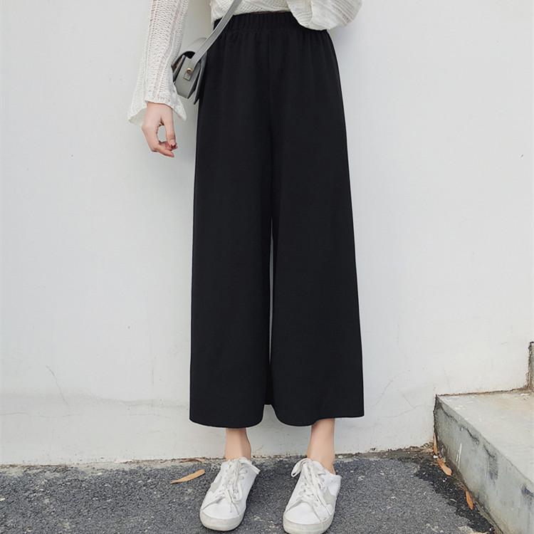 【爆款返场】垂感高腰宽松阔腿裤