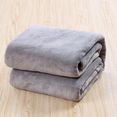 San hô fleece chăn điều hòa không khí chăn màu rắn chăn tấm duy nhất chăn khăn duy nhất là lười biếng chăn nap chăn giải trí chăn