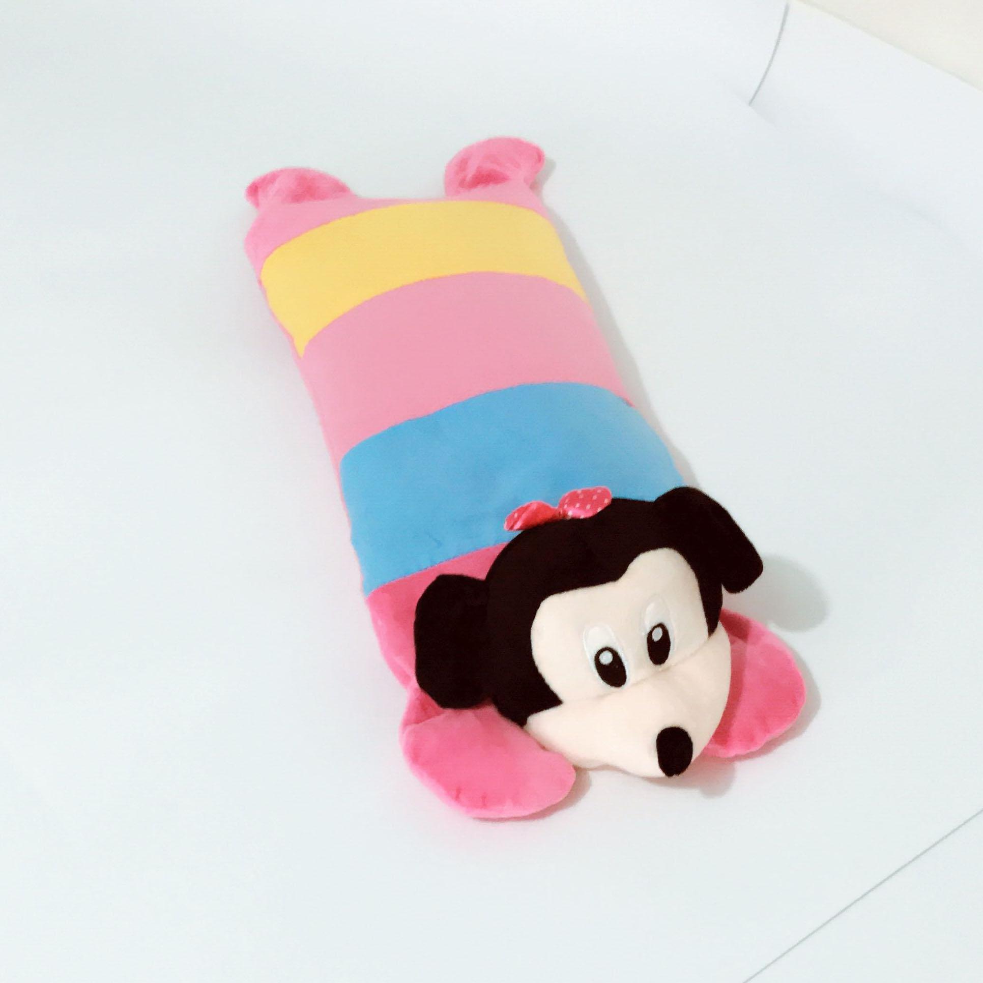 儿童枕头婴儿卡通可爱纯棉枕宝宝幼儿园午睡加长透气0-1-2岁冰丝