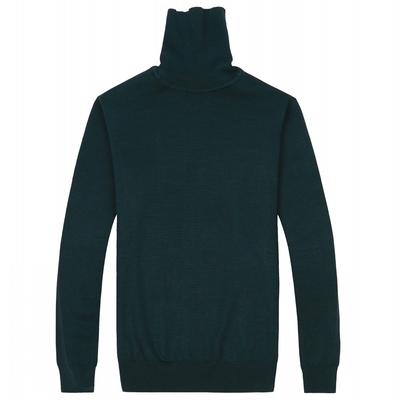 Của nam giới mùa đông mỏng cao cổ áo len thời trang Hàn Quốc thủy triều của nam giới áo len bó sát màu rắn áo len ấm đáy áo