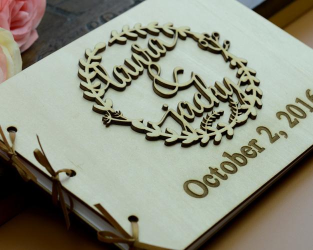 定制结婚礼物公司年会同学毕业生日聚会签名册签到簿guest book