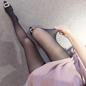 实拍孕妇丝袜打底裤袜夏季超薄连裤袜托腹可调节防勾丝弹性袜子