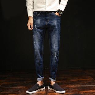 春季男士新款休闲裤牛仔裤
