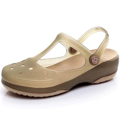 Chính hãng VEBLEN giày lỗ nữ dép mùa hè -giày bãi biển - dép đi mưa - dép đi trong phòng làm việc và dép đi trong nhà Dép