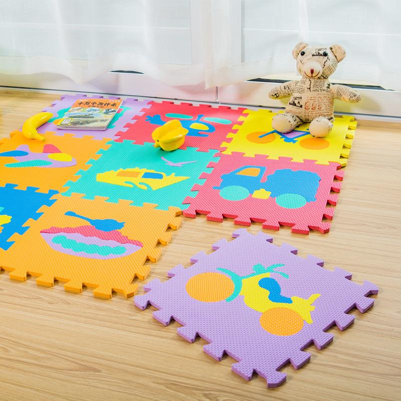 明德字母爬行垫 数字拼图地垫儿童爬爬垫宝宝拼接垫泡沫垫子