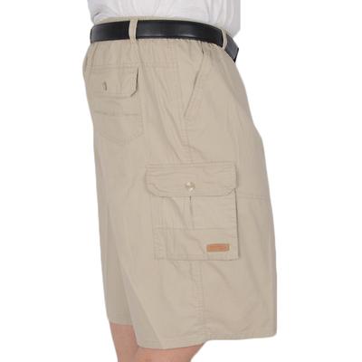 Mùa hè kích thước lớn bông 7 điểm quần vành đai vành đai cha bảy điểm quần với dây kéo quần eo cao sâu tập tin chất béo 3/4 Jeans