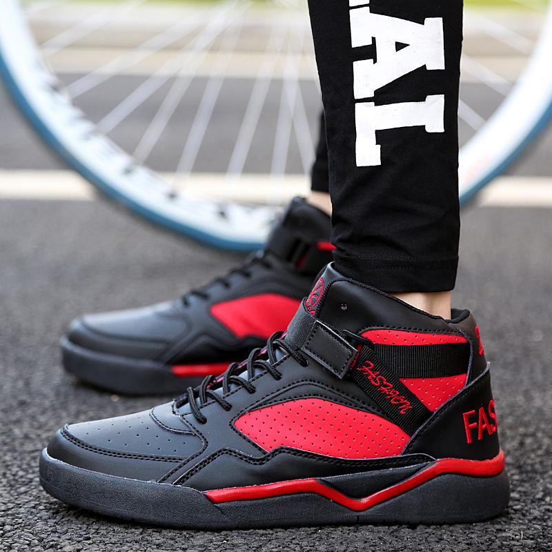 Giày bóng rổ nam giày trong mùa xuân tăng sốc hấp thụ mặc trai bóng rổ văn hóa giày xu hướng giày thường giày thể thao