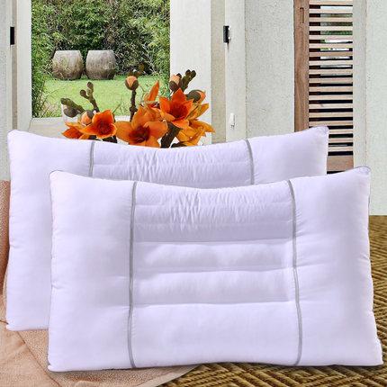 富安娜决明子枕头枕芯一对装正品成人家用护颈枕颈椎单人单个