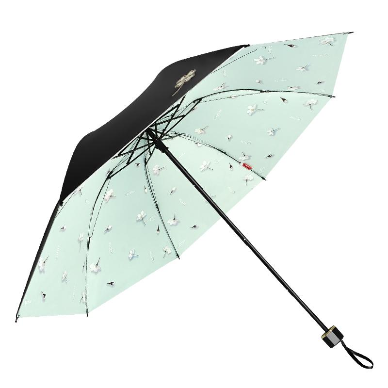 红叶雨伞女晴雨两用伞森系复古简约折叠小清新ins遮阳伞防紫外线