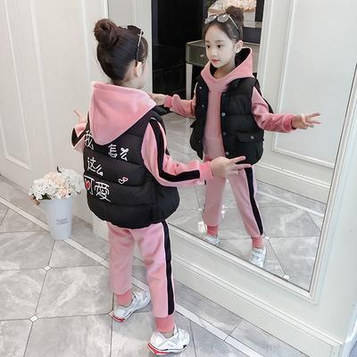 。5到12儿童秋装6小学生7至8女童长袖一套装女孩秋天穿的衣服十岁