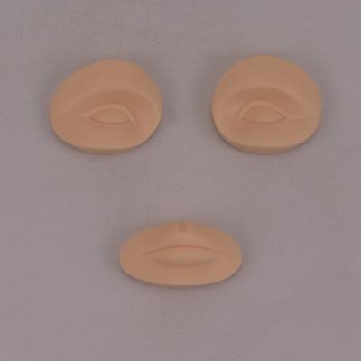 纹绣练习头模具韩式半永久纹眉型假人头型漂唇可替换眉眼唇模特头