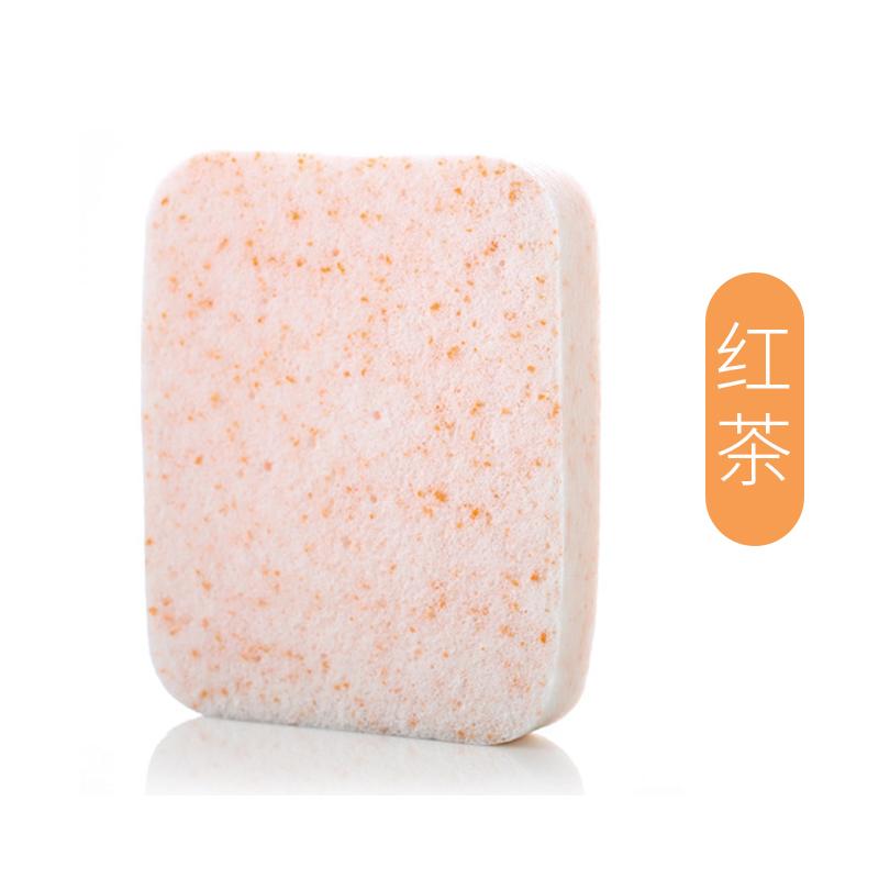 洗脸扑洁面扑加大加厚洗脸海绵细腻不伤肤深层清洁去角质粉扑盒装