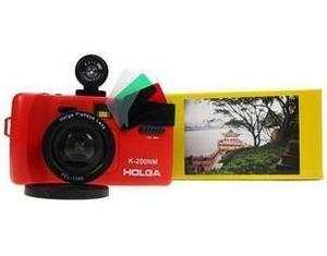 Máy ảnh LOMO Fisheye K200N Nâng cấp K200NM Máy ảnh góc rộng đỏ
