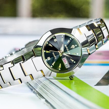 天天特价瑞士正品牌钨钢女士表手表女表防水韩版夜光潮流时尚腕表