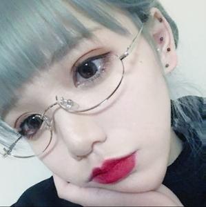Nhật bản anime dễ thương cô gái kính khung cô gái mềm chị dễ thương gió nửa khung kim loại ánh sáng kính có thể được trang bị cận thị