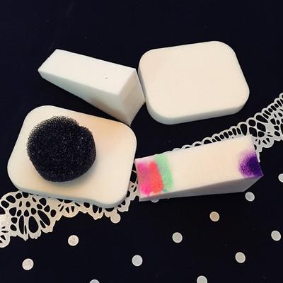 美甲创意小工具海绵渐变胭脂粉海绵片