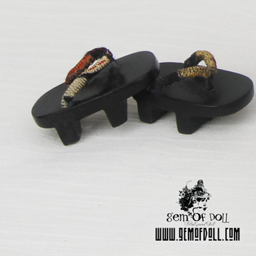 taobao agent 【GEM shoes】bjd doll 1/8 Japanese style clogs slippers on sale in stock