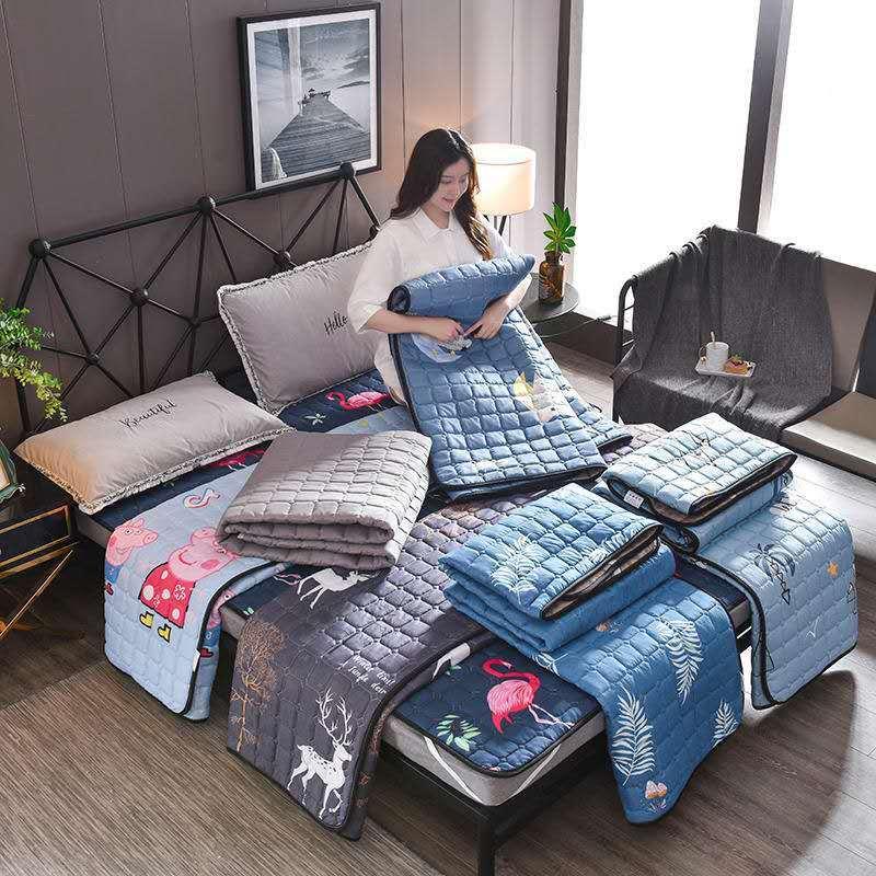 夏季床护垫可水洗防滑保护垫薄褥子榻榻米