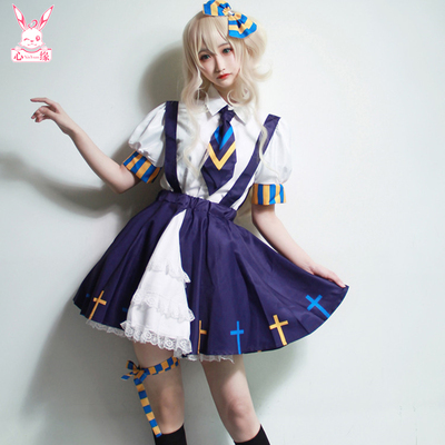 taobao agent Xinyuan Private Design has authorized the concave-convex fan Anmi to repair sex and turn Lolita suspender skirt world cos clothing soft sister skirt