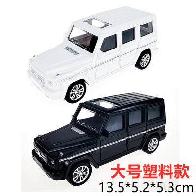 大G蛋糕汽车摆件大号越野奔驰汽车*塑料简易包装