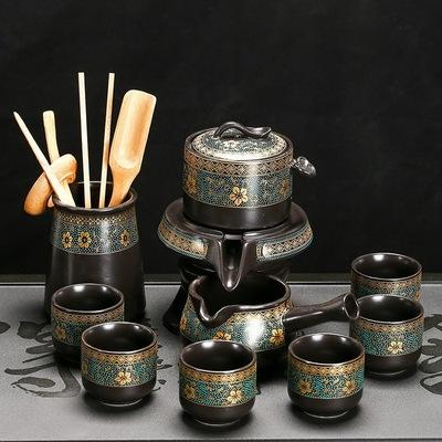 懒人自动茶具套装家用客厅简约现代陶瓷茶壶办公室泡茶功夫茶杯26