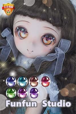 taobao agent BJD resin eyes DD cartoon eyes DollfieDream shiny eyes original design C series OB2D two-dimensional