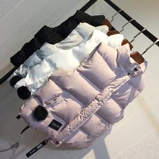 2017新款棉马甲女春秋冬短款学生棉服外套女装无袖背心坎肩1807