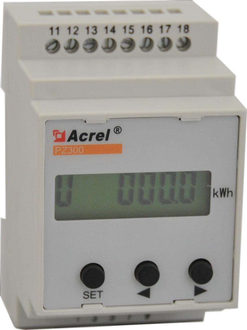 安科瑞厂家直销 PZ300-DI 导轨安装 数显直流电流表 用于直流屏等