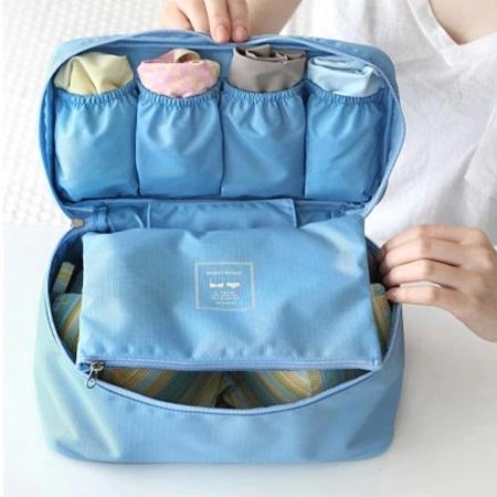 Lưu trữ túi du lịch lưu trữ đồ lót quần áo khác phụ kiện hộp áo ngực vớ đồ lót hoàn thiện lưu trữ túi ra du lịch