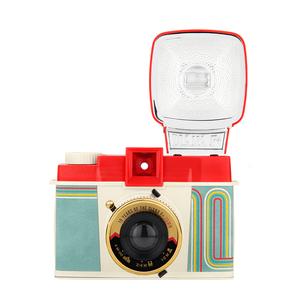 LOMO máy ảnh Diana F + Diana 10th Anniversary Phiên Bản Giới Hạn 120 Retro Máy Ảnh Phim Biến Polaroid