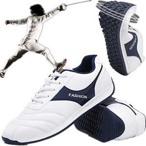 Đấu kiếm giày đào tạo hàng rào sneakers chuyên nghiệp hàng rào thực hành cạnh tranh giày đệm mặc non-slip đào tạo thoáng khí thanh kiếm giày