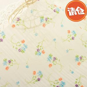 Bông mỏng tươi nhỏ hoa tự làm thủ công quần áo váy bé trẻ em bông bông vải q