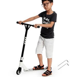 Thanh vàng fancy hai bánh scooter cực xe thể thao giới hạn scooter diễn viên đóng thế skateboard