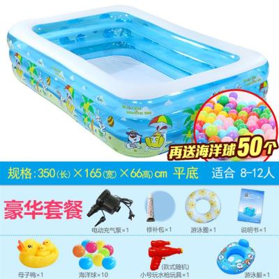 Bể bơi người lớn ban công gia đình trẻ em chơi trong nước kèn đại dương thương mại nhỏ an toàn tại nhà bể bơi mái chèo - Bể bơi / trò chơi Paddle