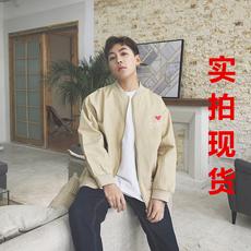 【实拍现货】#703#杨杨家2018春季新款夹克男士加厚鲨鱼bf外套