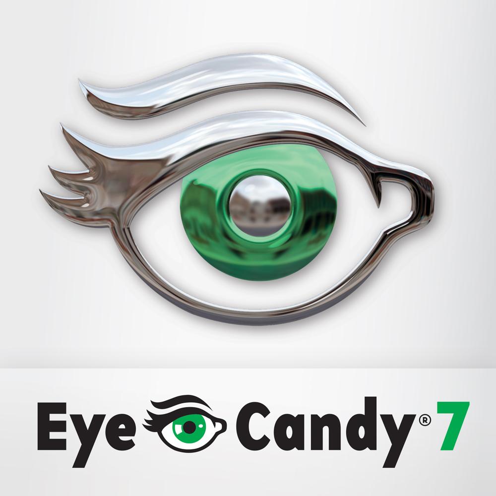 【S846】PS眼睛糖果滤镜 Alien Skin Eye Candy 7 中文版 win