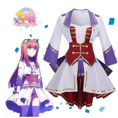 taobao agent Nutcracker cos horse racing girl full play song suit Donghai emperor anime cosplay costume F0184