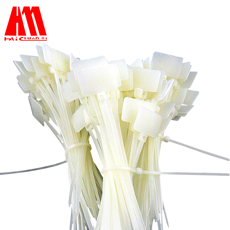 2881b7bbcf2c Haichuanqi Label Ties 3*100mm Label Nylon Cable Ties Fiber Optic Cable  Cables 100