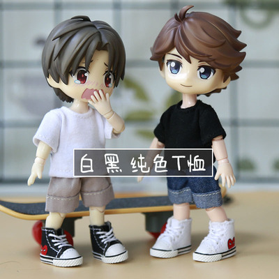 taobao agent ob11 baby clothes accessories GSC clay head DDF YMY body9 body can be worn with a solid color T-shirt, all-match
