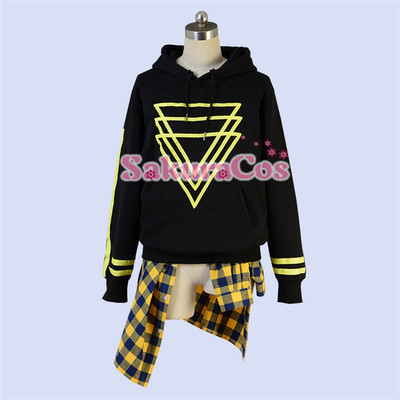 taobao agent Spot A3! Summer group turtledove triangle daily cosplay clothes jacket can be bought alone